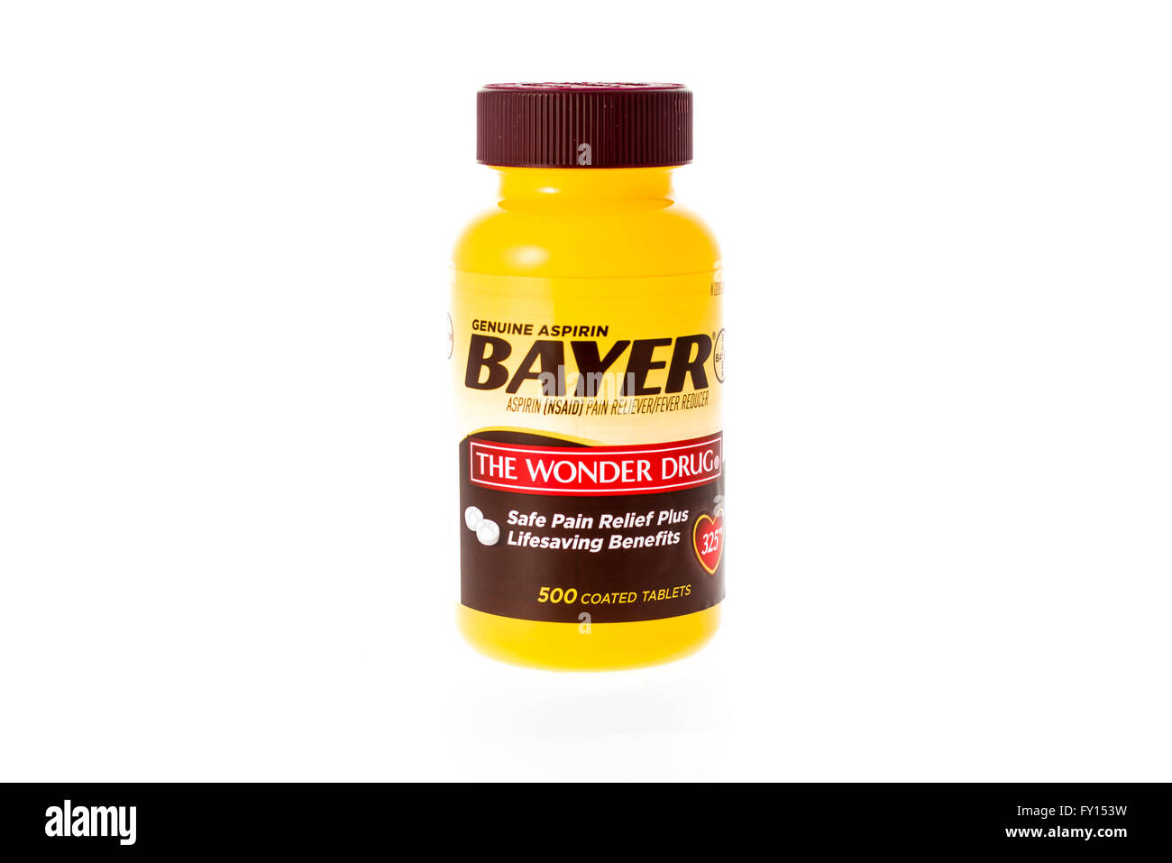 Bayer and drug stock photos bayer and drug stock images alamy winneconne wi 9 february 2015 bottle of bayer aspirin the wonder drug buycottarizona Image collections