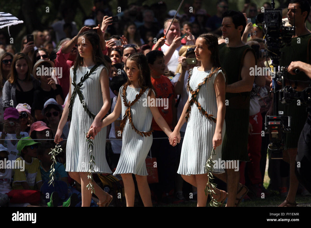 (160420) -- OLYMPIA Greece Apr 20 2016 (Xinhua) -- The dress rehearsal for the Olympic flame lighting ceremony for the Rio 2016 Olympic Games is held at ...  sc 1 st  Alamy & 160420) -- OLYMPIA Greece Apr 20 2016 (Xinhua) -- The dress ... azcodes.com