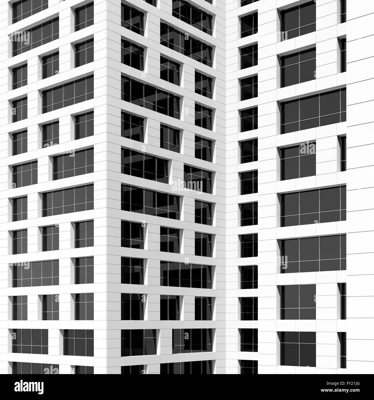 Modern Architecture Pattern abstract modern architecture, pattern of dark windows in white