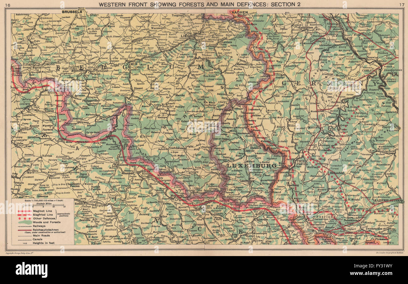 World war 2 maginot siegfried lines defences pre invasion world war 2 maginot siegfried lines defences pre invasion belgium 1940 map gumiabroncs Choice Image