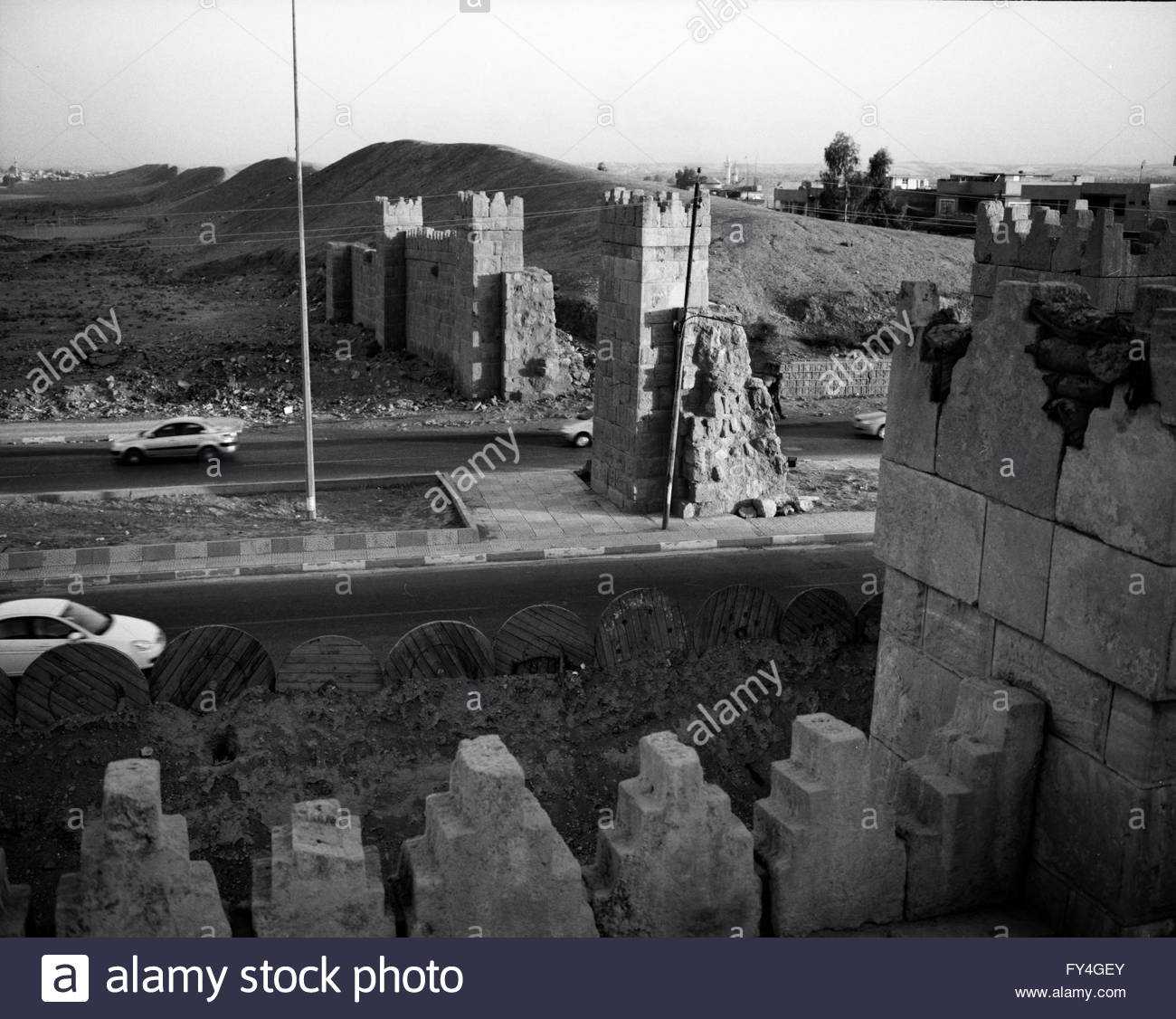 shamash gate east gate of the ancient defence wall of mosul