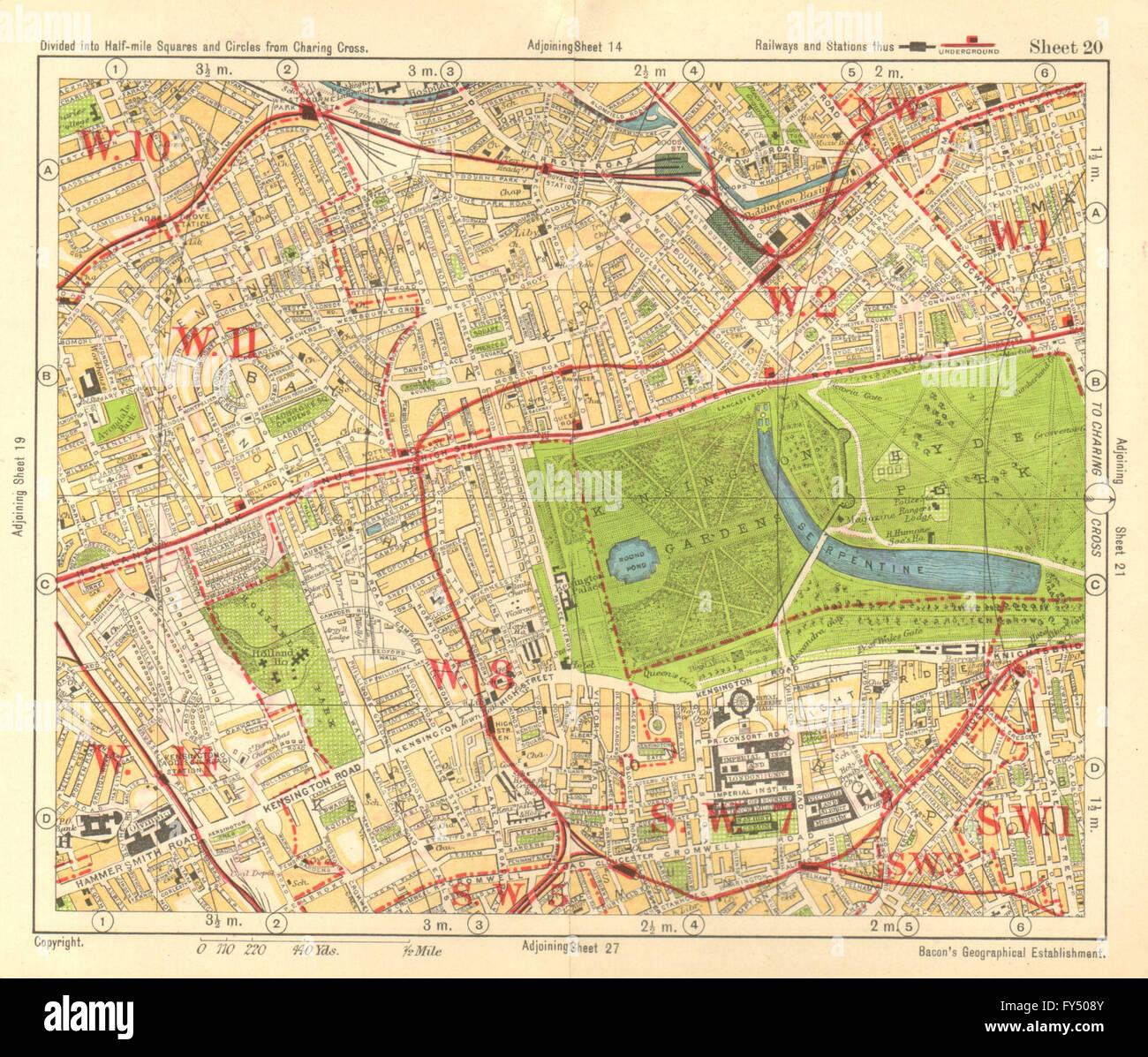 W LONDON Paddington South Kensington Bayswater Notting Hill