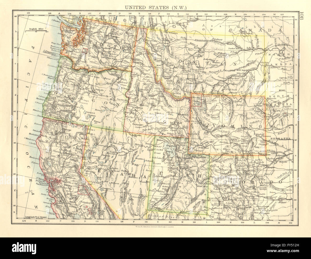 North West Us Map Globalinterco - West us region map