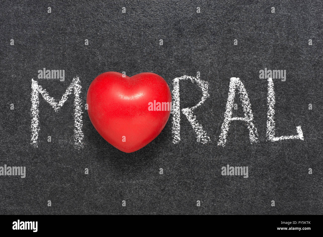 Moral word handwritten on blackboard with heart symbol instead o moral word handwritten on blackboard with heart symbol instead o biocorpaavc