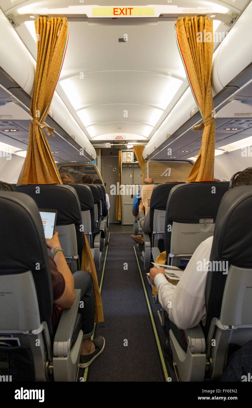 Curtains Curtain Between Economy Passengers From Business Class On Airbus  Passenger Aircraft Air Craft Plane Airplane