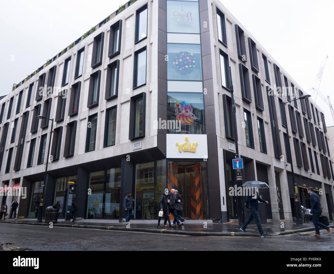 makers of candy crush saga king headquarters soho london candy crush king offices