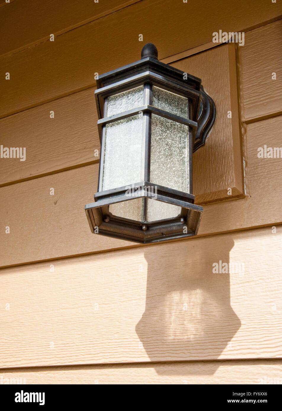 modern porch light stock photo royalty free image   alamy - modern porch light