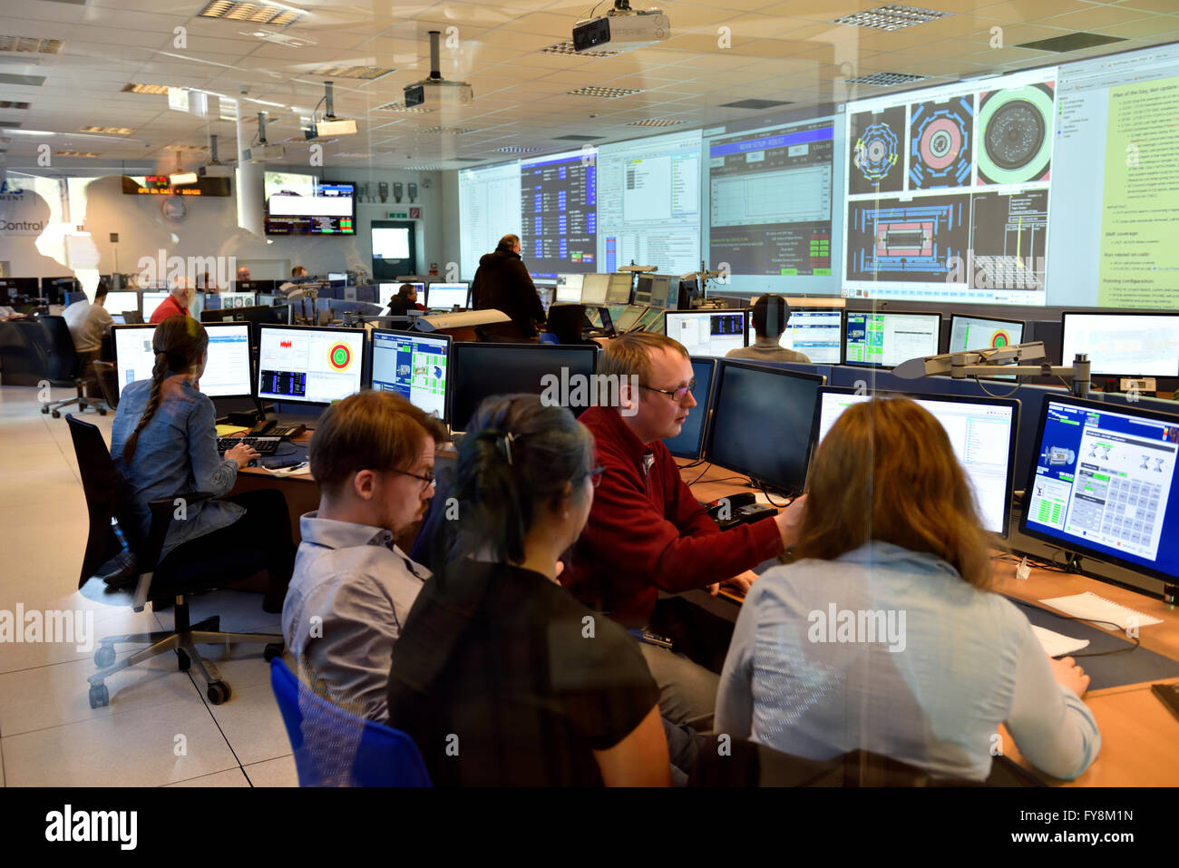 Awesome Inside The Atlas Building Control Room At Cern Where Physicists Largest Home Design Picture Inspirations Pitcheantrous