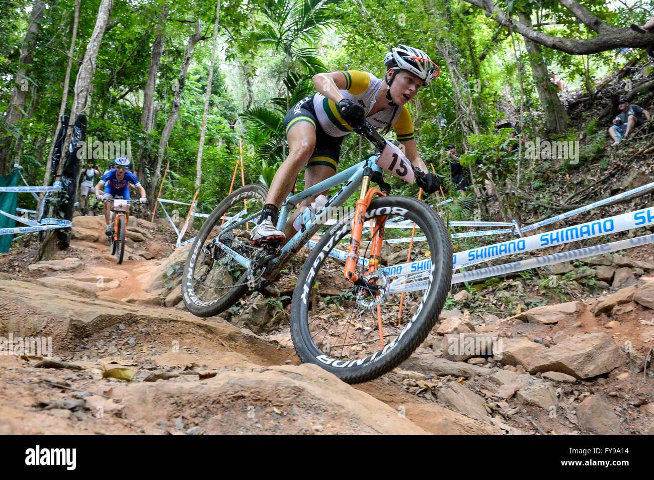 Cairns Australia 24th Apr 2016 Uci Mountain Bike World Cup