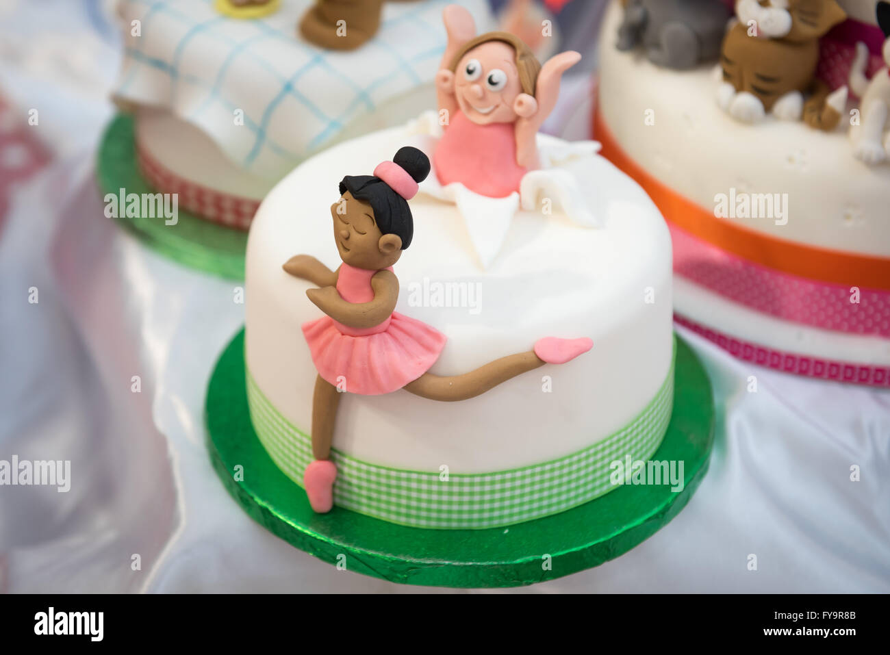 Cake Decorating Stock Images : Ballerina ballet dancer birthday cake at Cake ...