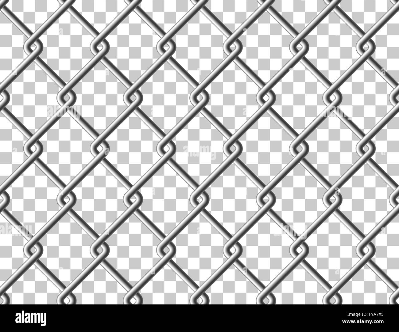 steel mesh metal fence seamless transparent structure vector eps 10