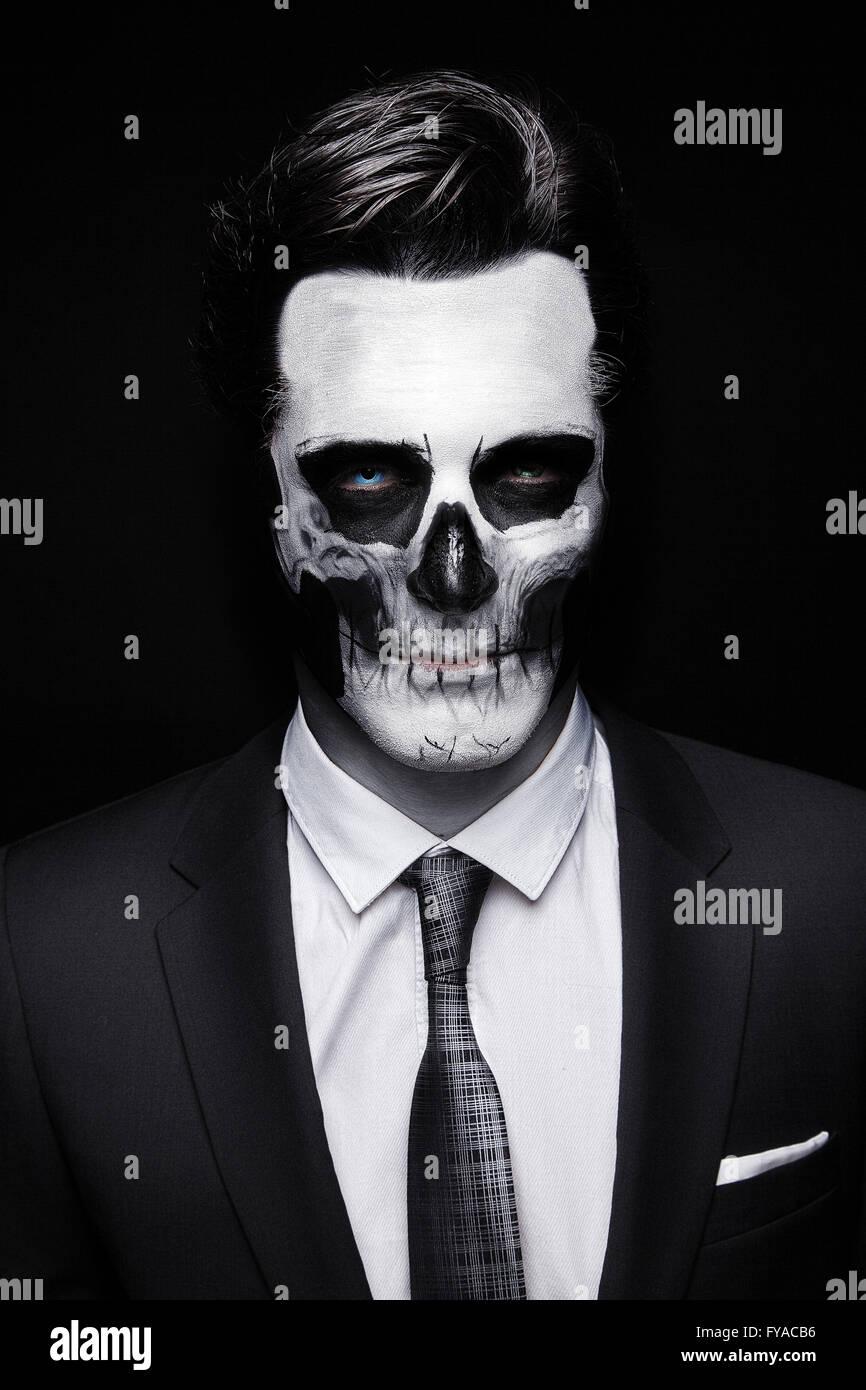skeleton makeup male mugeek vidalondon