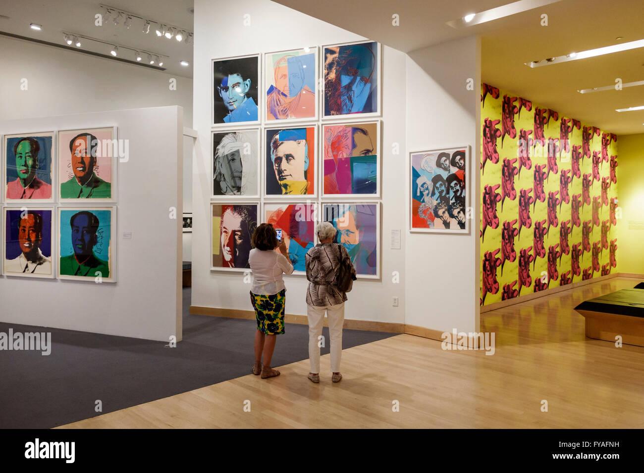 Boca Raton Florida Boca Raton Museum Of Art Andy Warhol Exhibit Stock Photo Royalty Free Image
