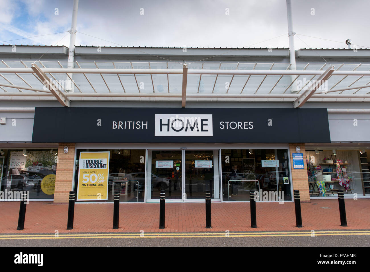 British Home Stores  BHS  store at Cardiff Bay retail park  Cardiff  BHS  has gone into administration. British Home Stores  BHS  store at Cardiff Bay retail park
