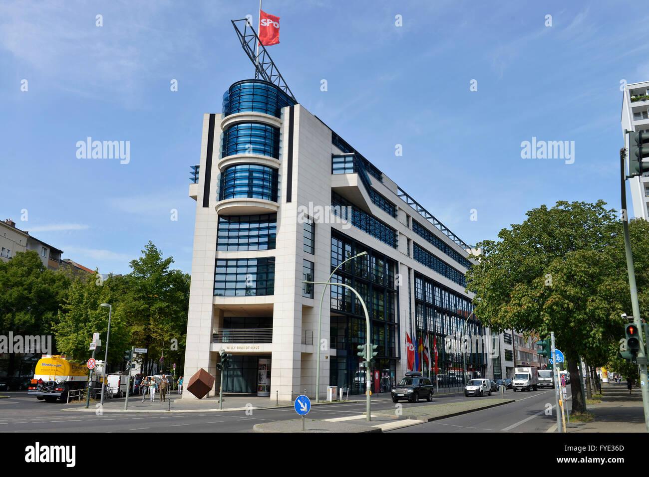 Willy Brandt Haus Spd