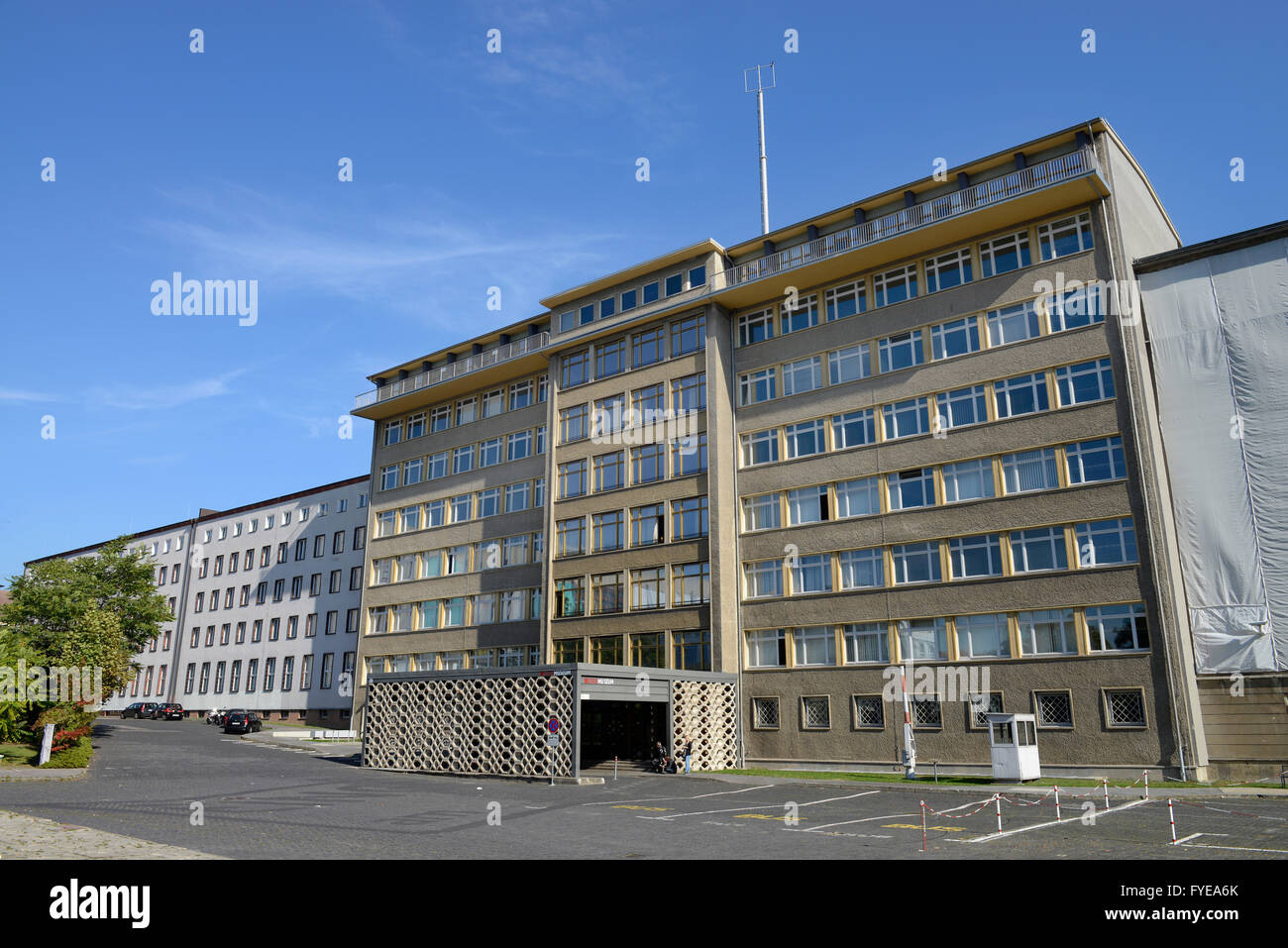 haus 1 stasi museum normannenstrasse lichtenberg berlin stock photo royalty free image. Black Bedroom Furniture Sets. Home Design Ideas