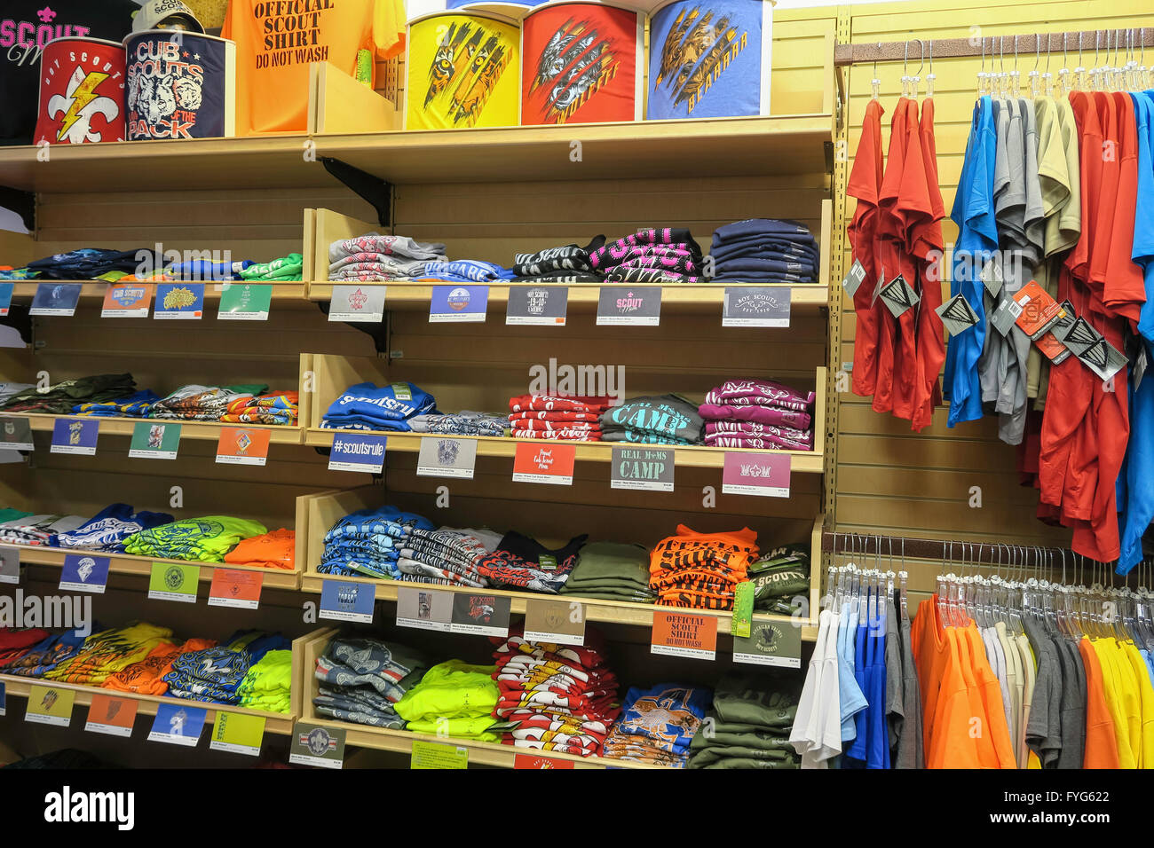 Boy Scouts of America Store in Manhattan, New York City, USA Stock ...