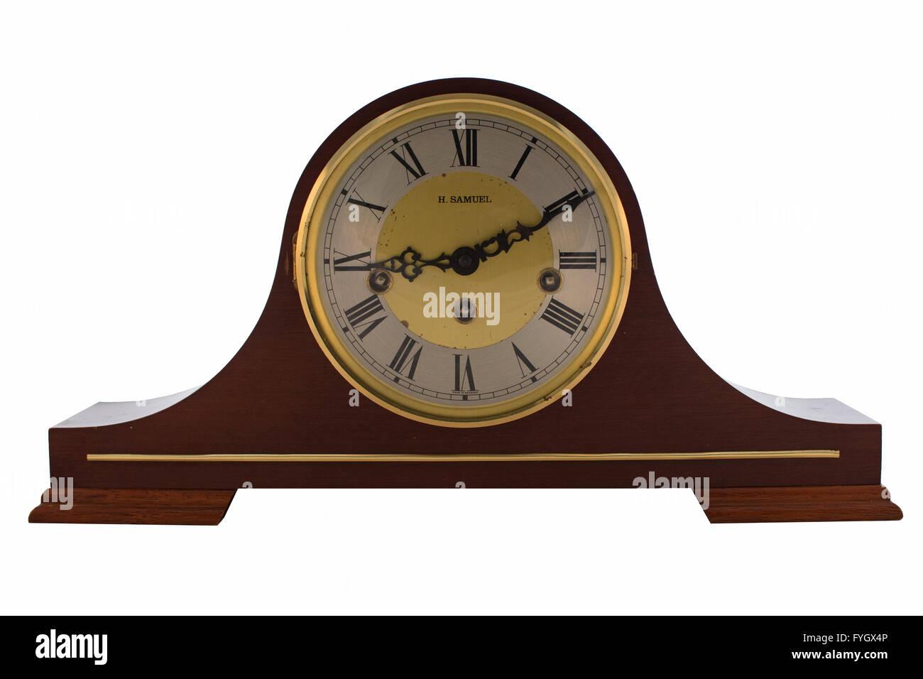 a h samuel antique mantle clock - Mantle Clock