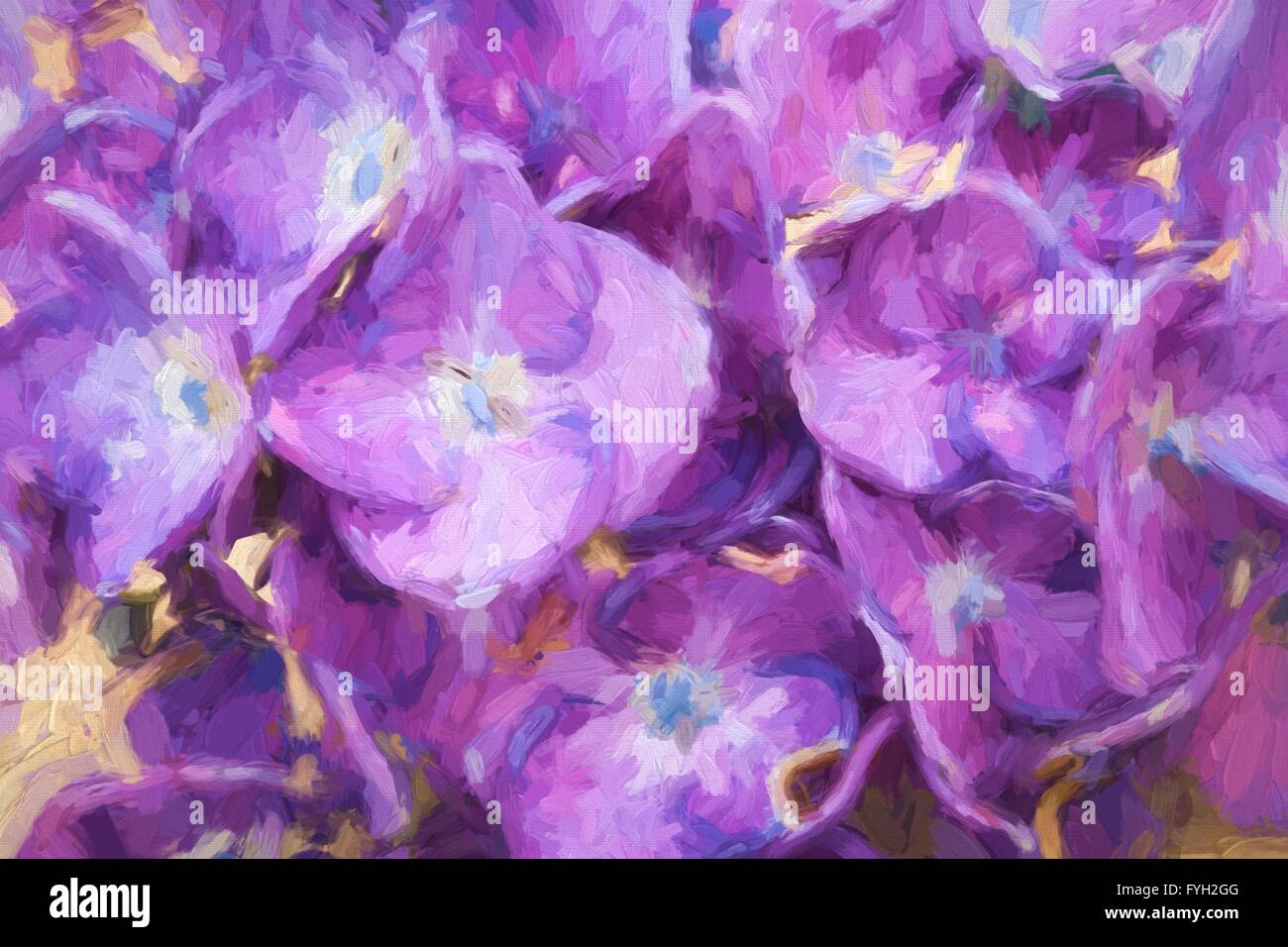 Pictures Of Flowers To Paint On Canvas