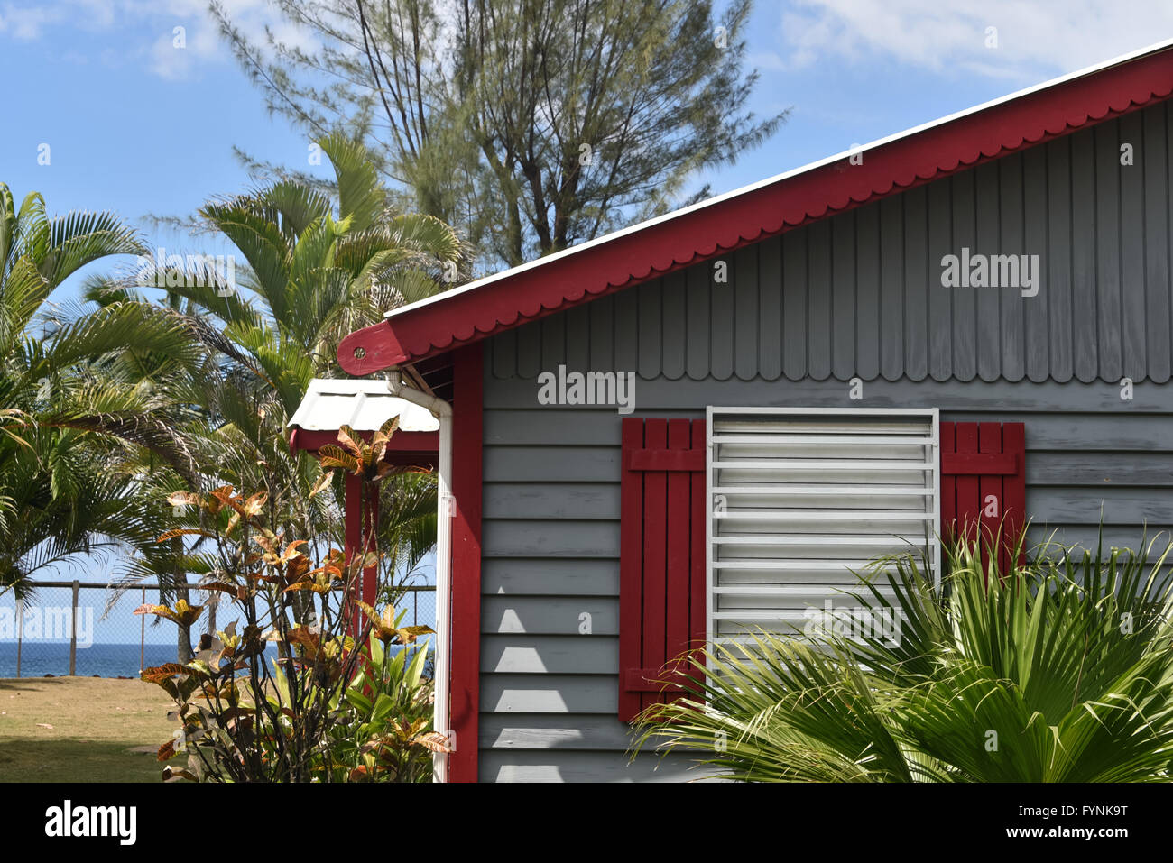 A Small Bungalow Style House In Front Of The Beach Rincon Puerto Rico