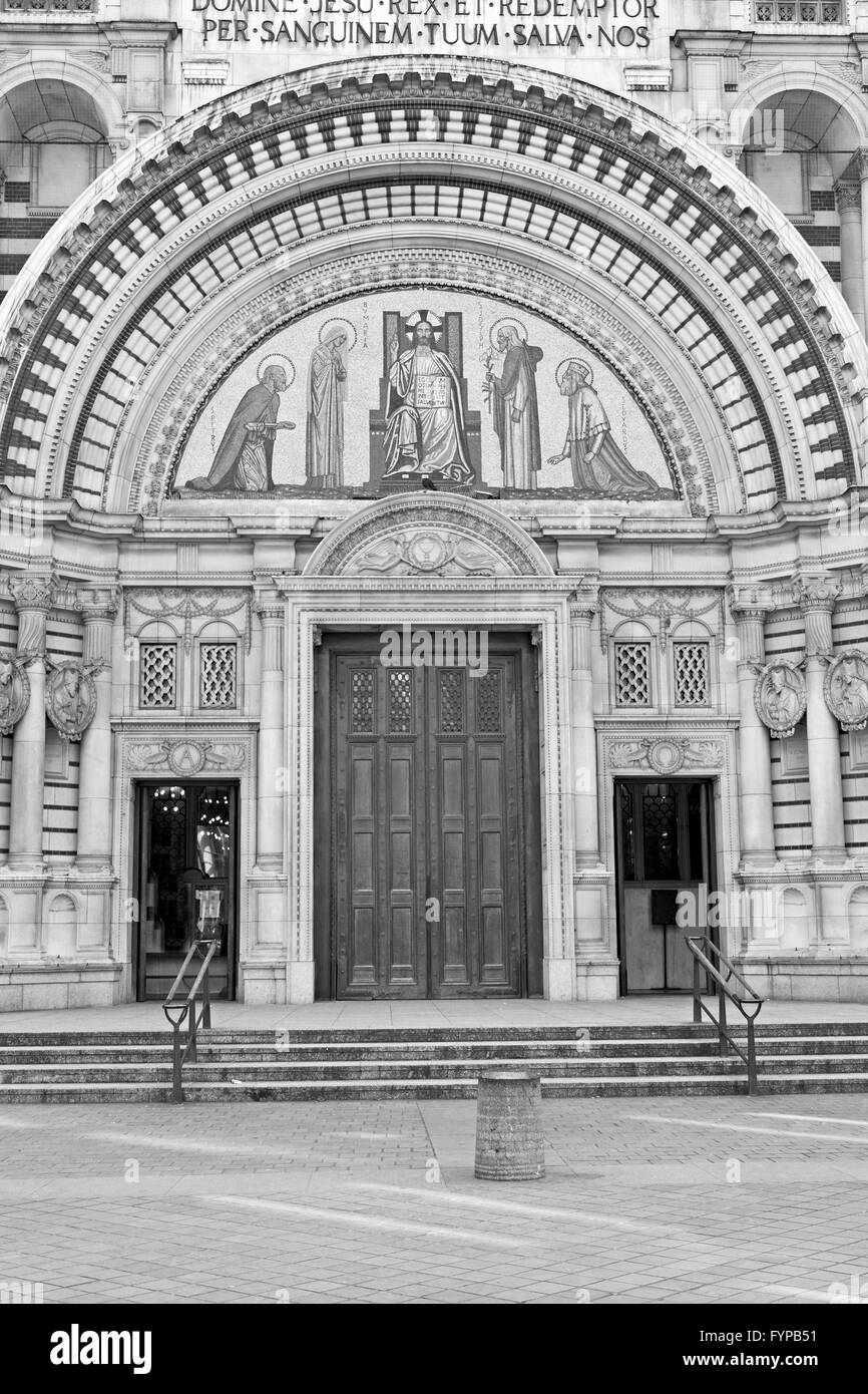 Stock Photo - door westminster cathedral in london england old construction and religion & door westminster cathedral in london england old construction and ... Pezcame.Com