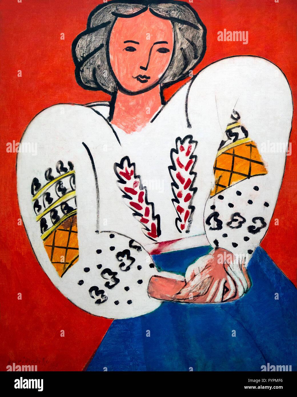 La Blouse Roumaine, by Henri Matisse, 1940, Centre Pompidou, Paris ...