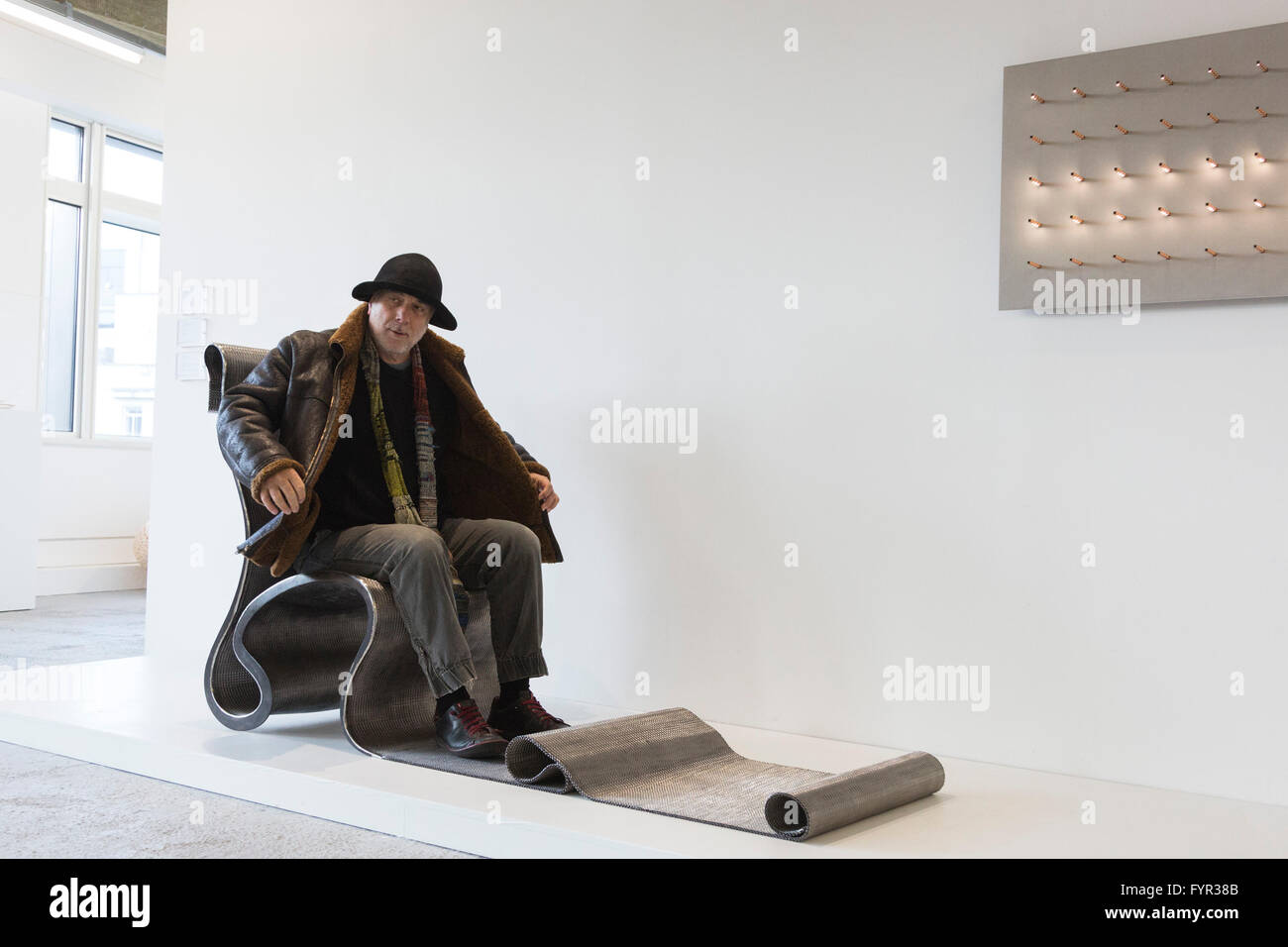Designer Ron Arad Sits On The Important London