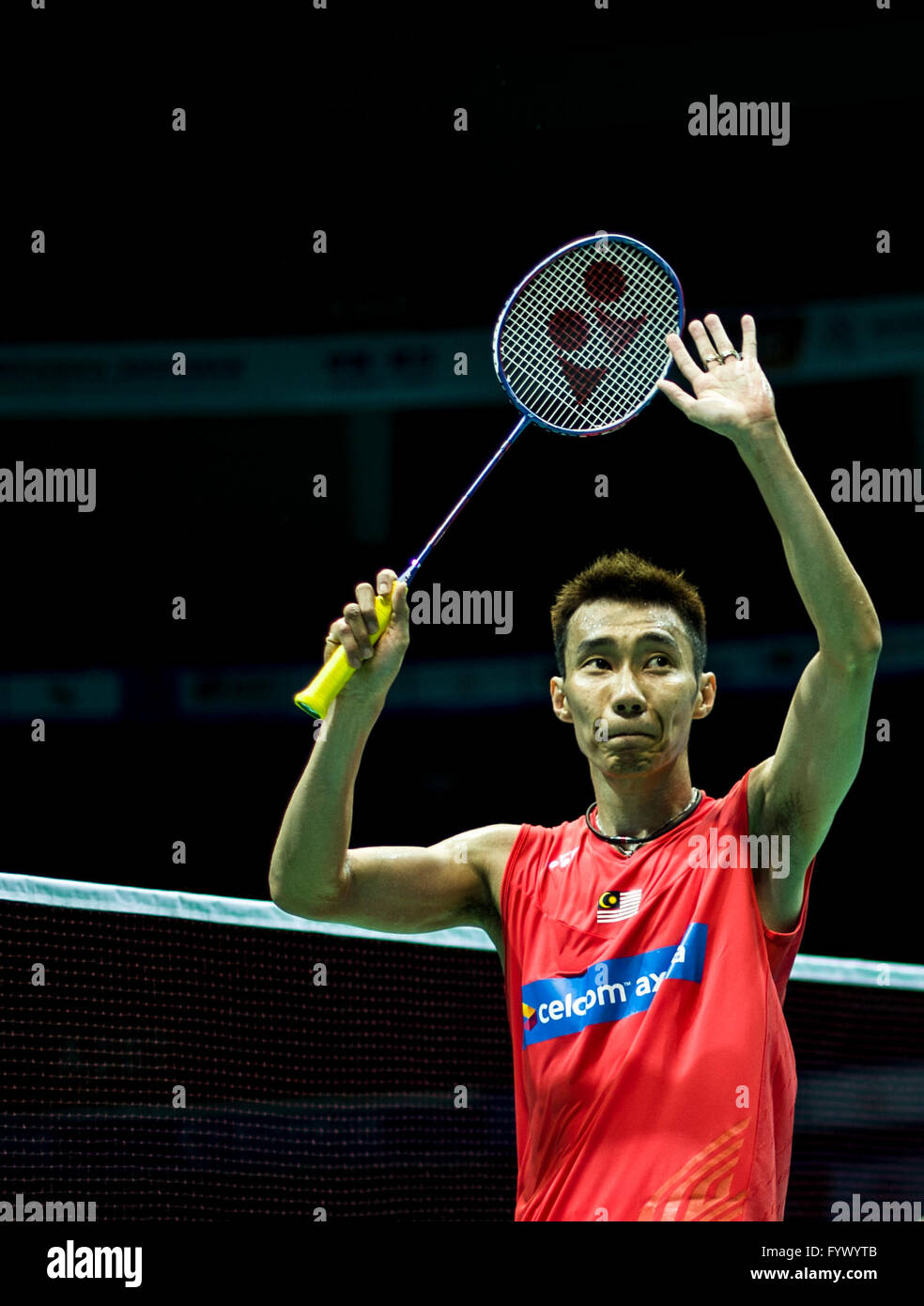 Wuhan China s Hubei Province 28th Apr 2016 Lee Chong Wei of