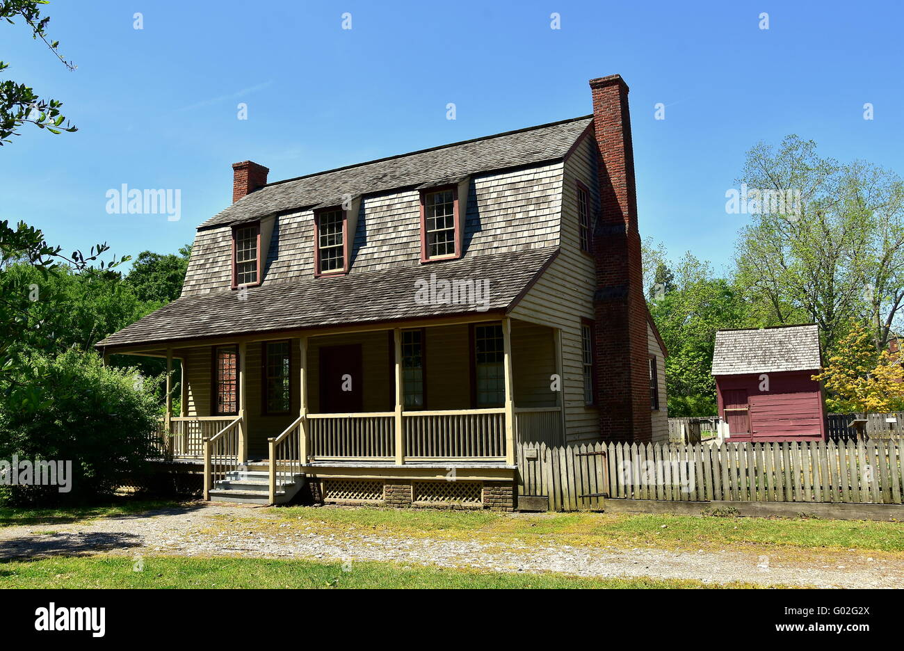 Bath North Carolina 1790 Van Der Veer Dutch Colonial