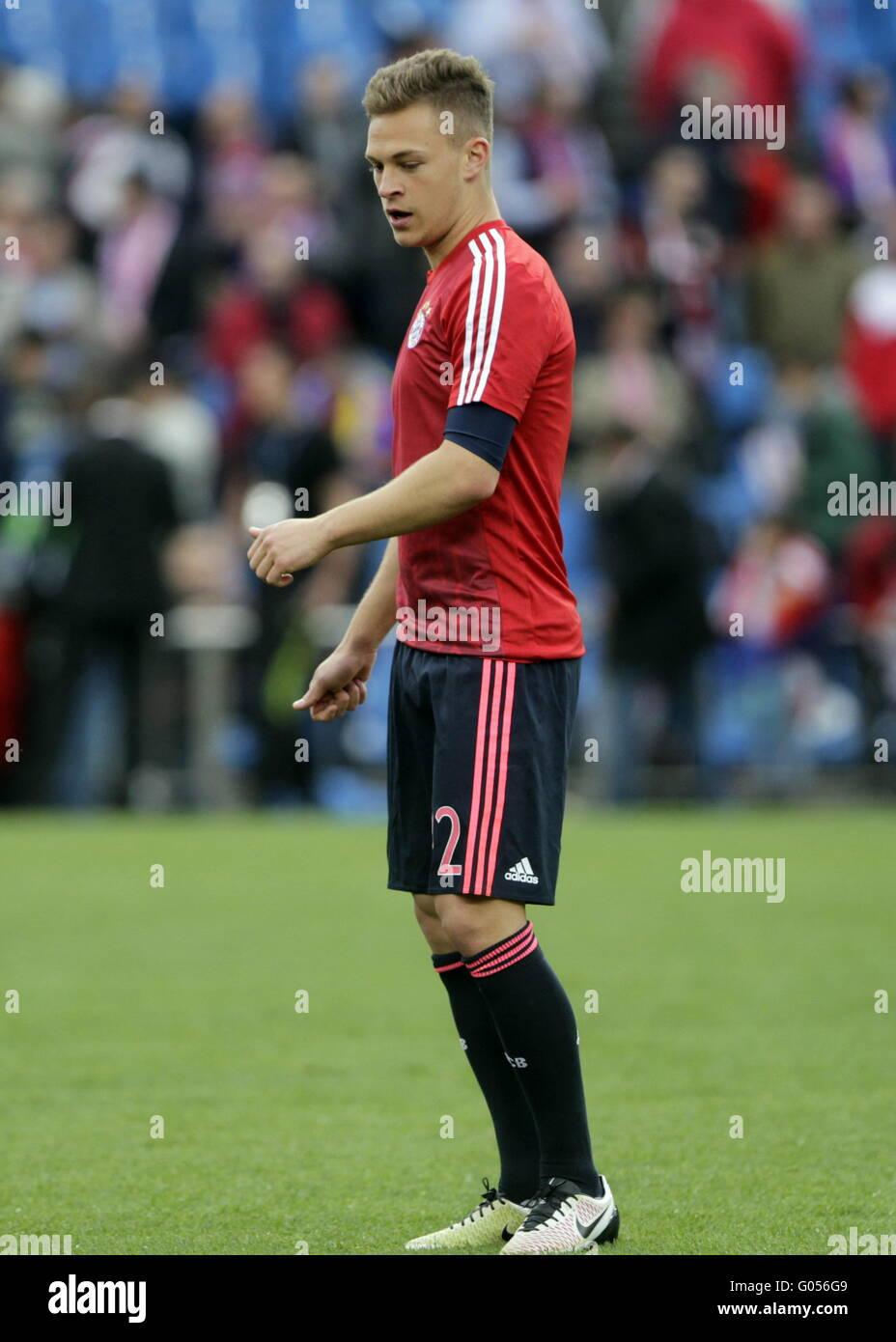 Joshua Kimmich Bayern Munich in action during the match of