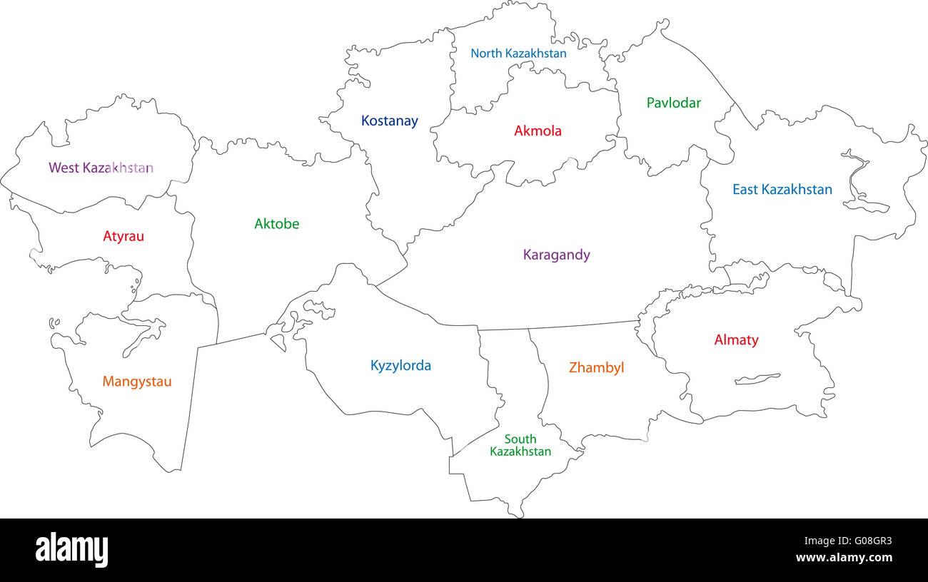 Contour kazakhstan map stock photo royalty free image 103451015 contour kazakhstan map gumiabroncs Images