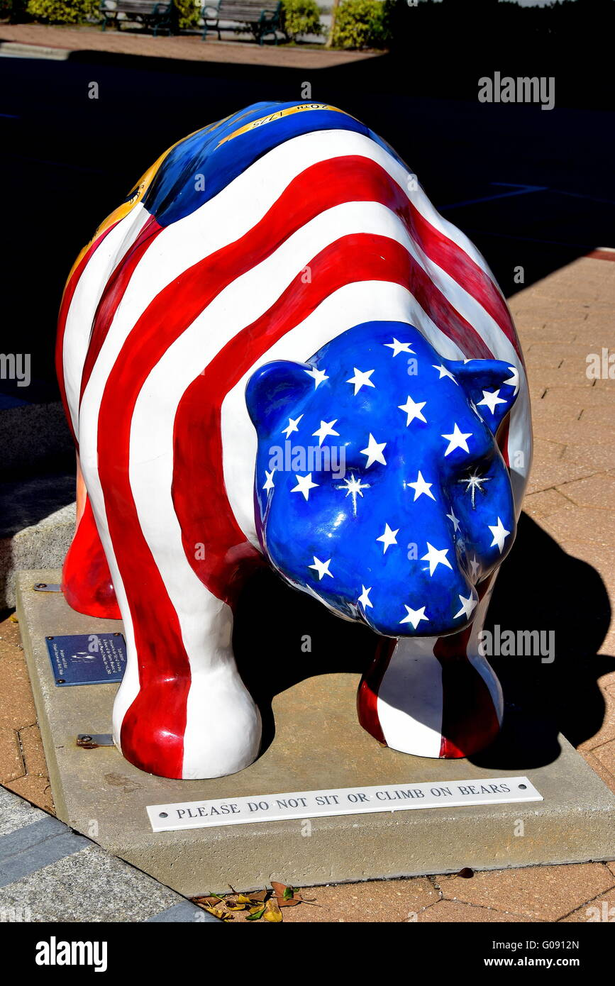 New bern north carolina patriotic red white and blue flag new bern north carolina patriotic red white and blue flag fiberglass bear the symbol of new bern public buycottarizona