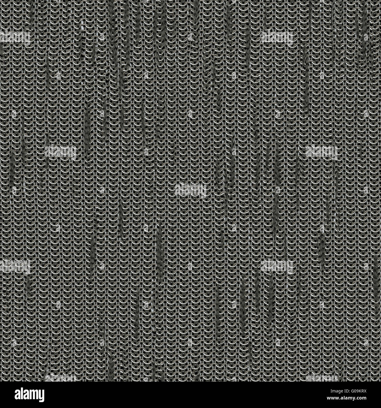 seamless computer generated metal chain mail texture rust