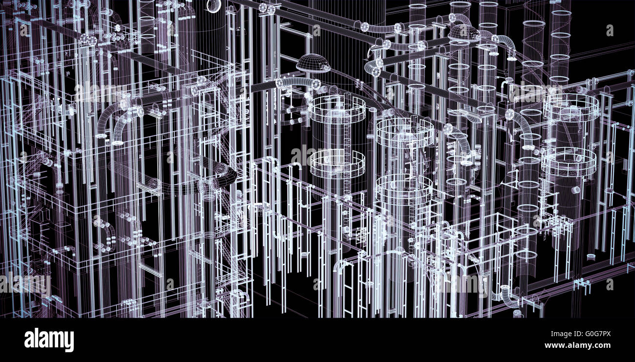 Abstract Industrial, Technology Banner Background. Engineering ...