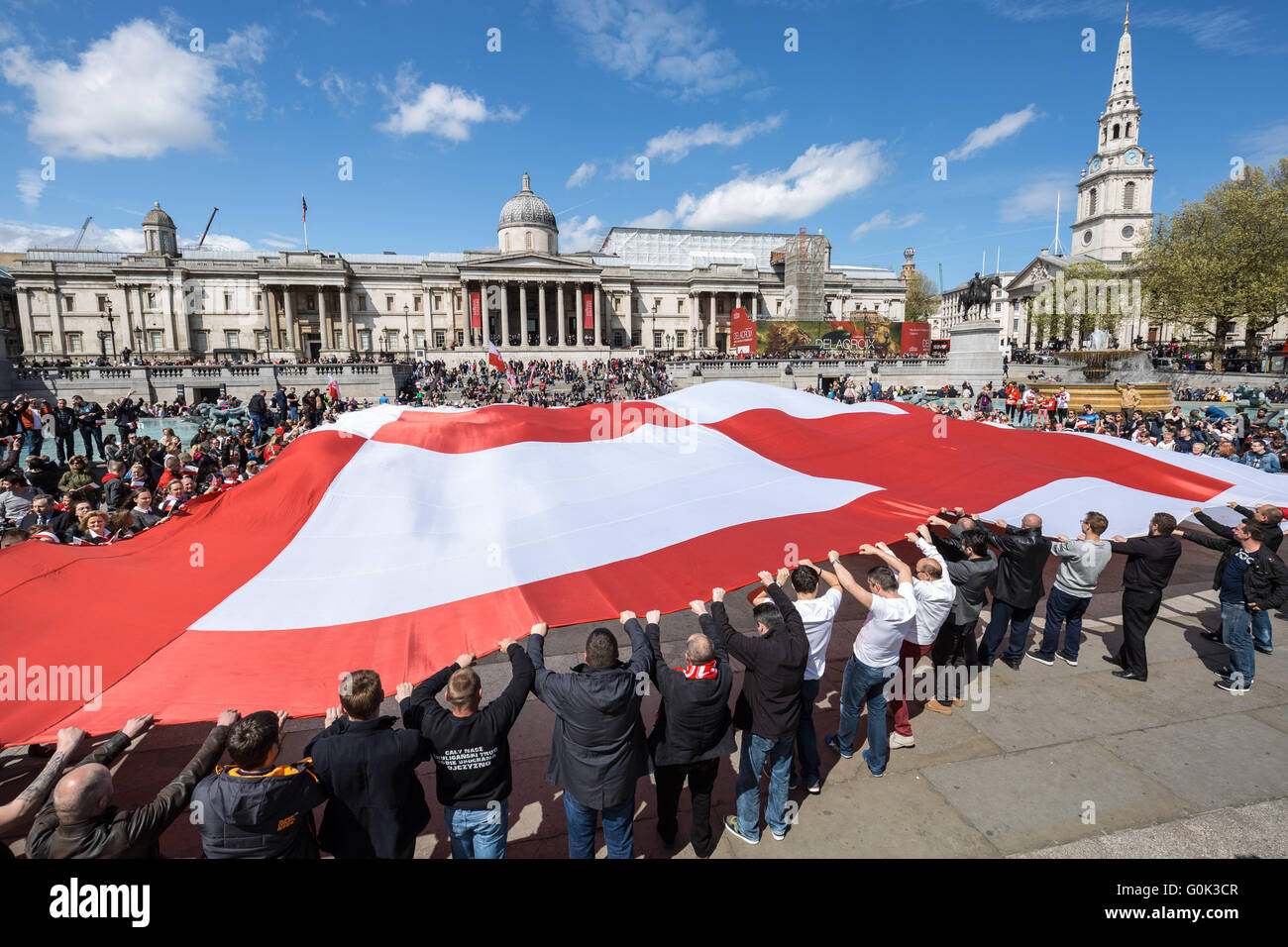 london uk 2nd may 2016 british poles celebrate national polish