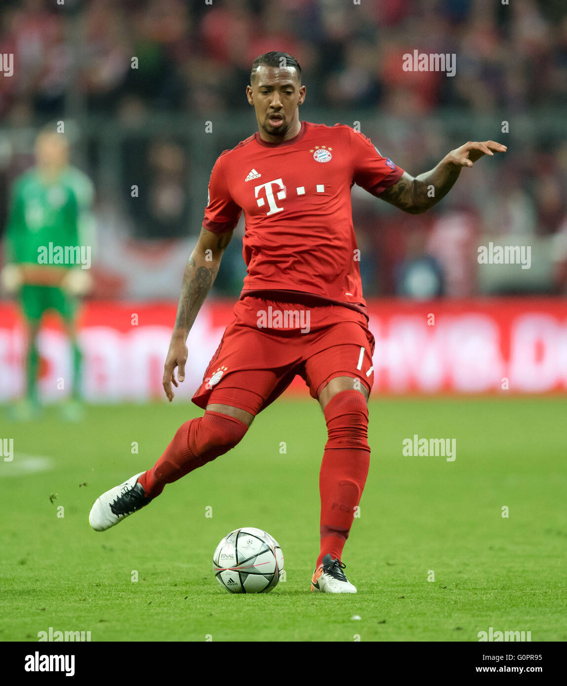 Bayern Munich s Jerome Boateng in action during the UEFA Champions