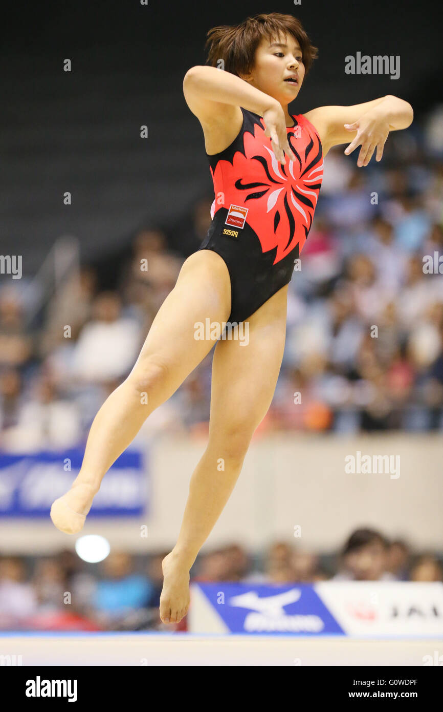 mai murakami Mai Murakami, MAY 4, 2016 - Artistic Gymnastics : The 55th NHK Cup women's  Individual All-Around, Floor exercise at Yoyogi