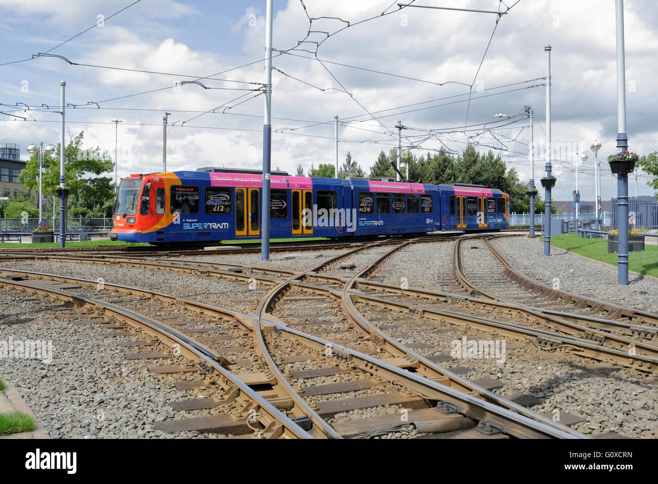 Sheffield Supertram 105. Meadowhall. 5th June 2013. | Flickr