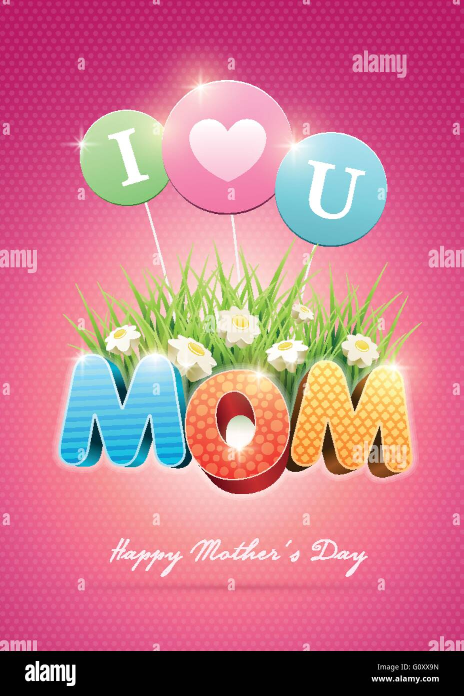 Poster design elements - Mother S Day Poster Design Template Elements Are Layered Separately In Vector File