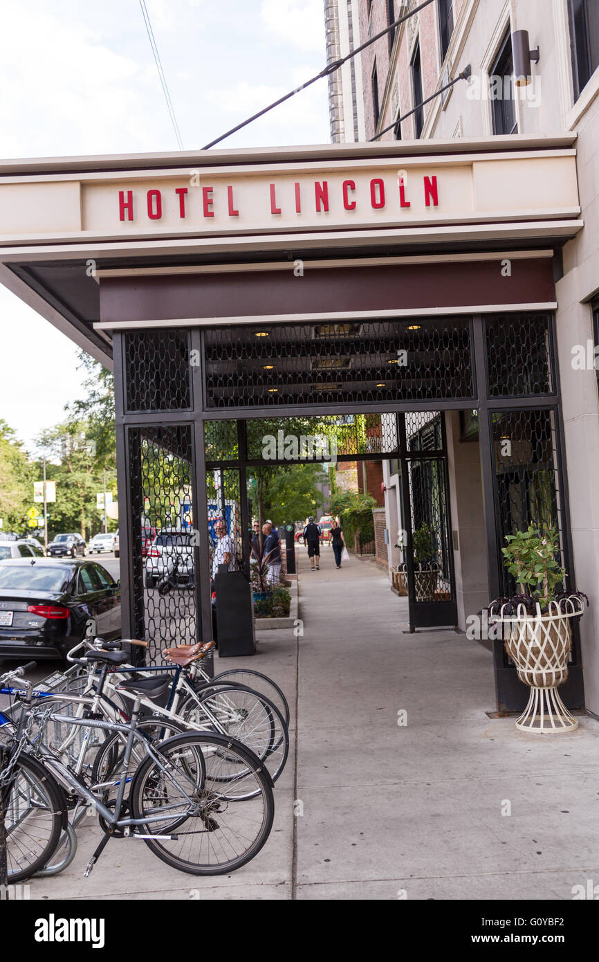 hotels illinois kennison lincoln the chicago park boutique wrigley field dining interior hotellincoln near hotel