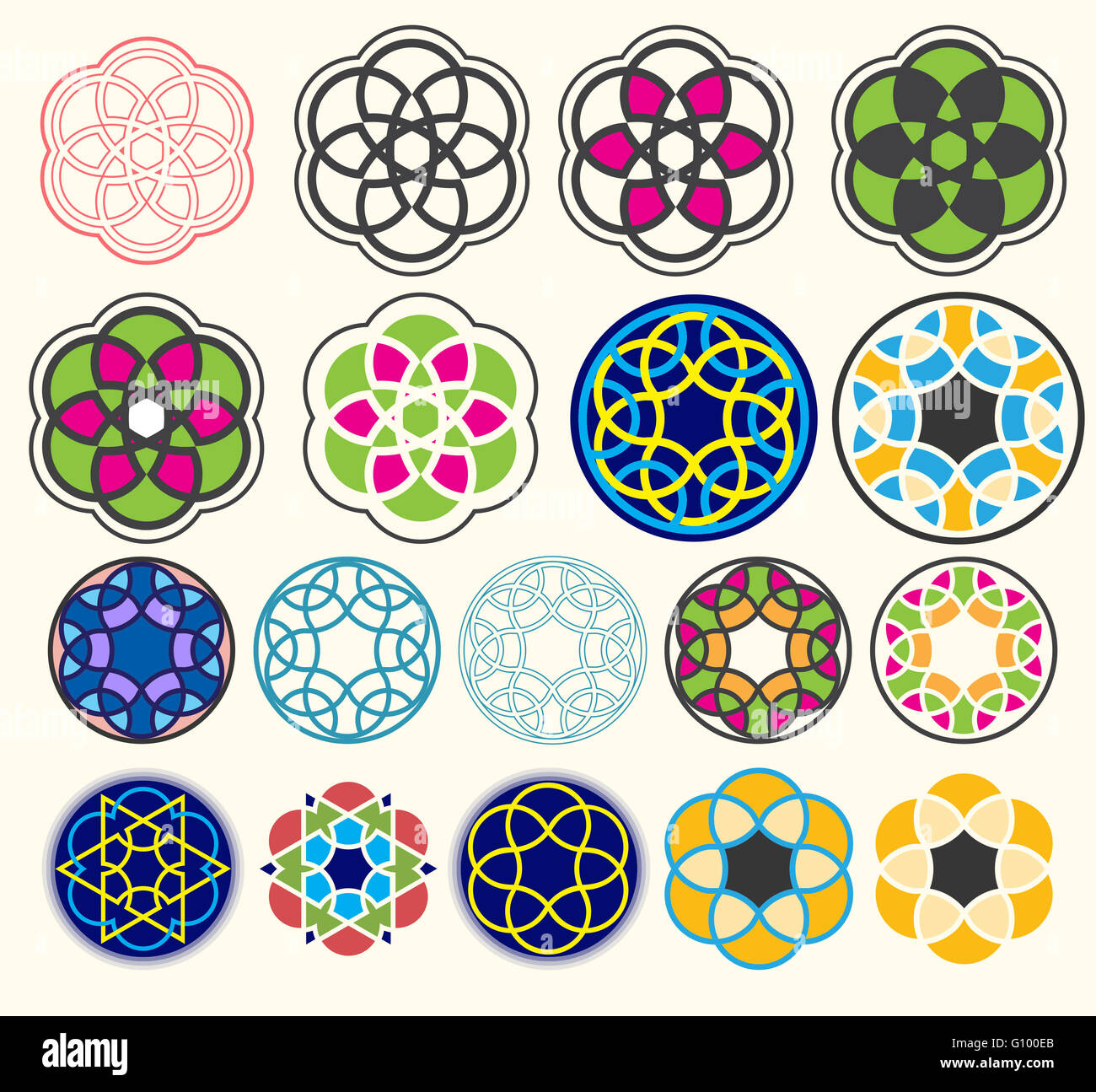Islamic Book Cover Design Vector ~ A design of geometric shapes perfect set card book