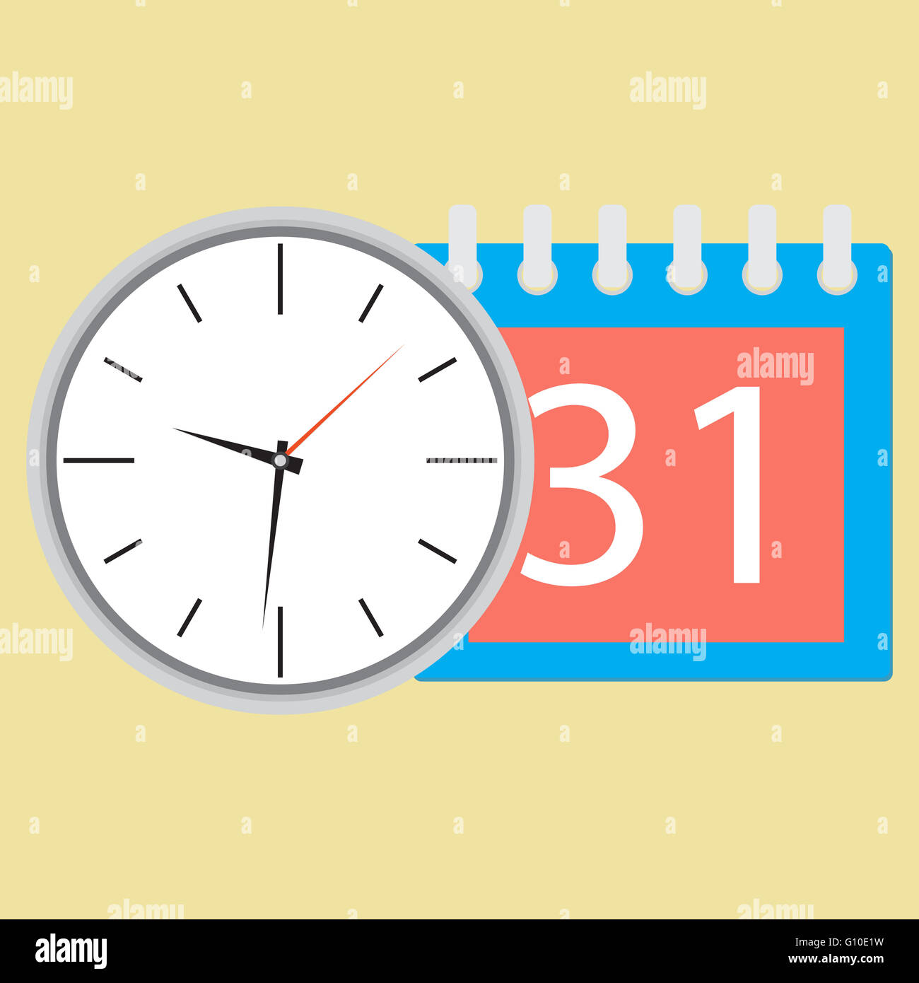 Time planning clock with calendar date plane and strategy time planning clock with calendar date plane and strategy business plan and plan icon planning process business day and cale amipublicfo Gallery