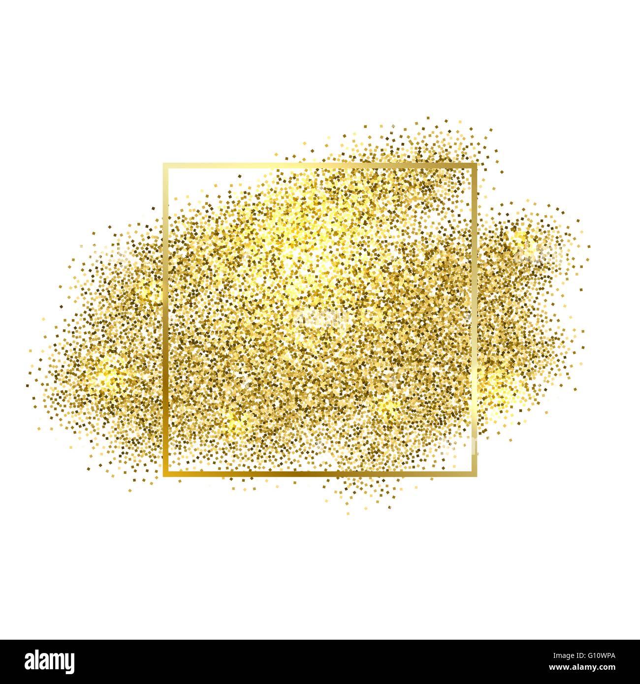 gold sparkles on white background gold glitter background
