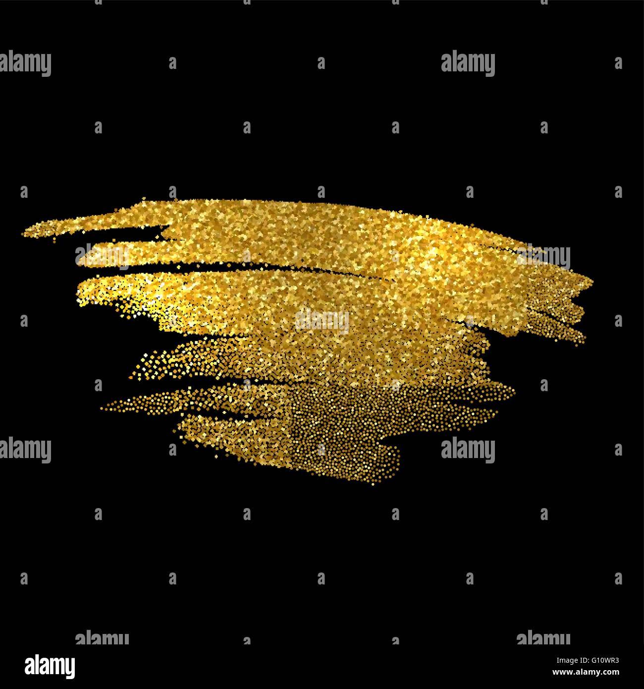 gold sparkles on black background gold glitter background