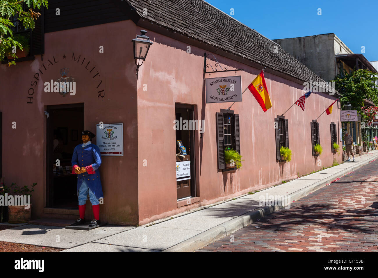 The Spanish Military Hospital Museum On Aviles Street The Oldest - Oldest museums in usa