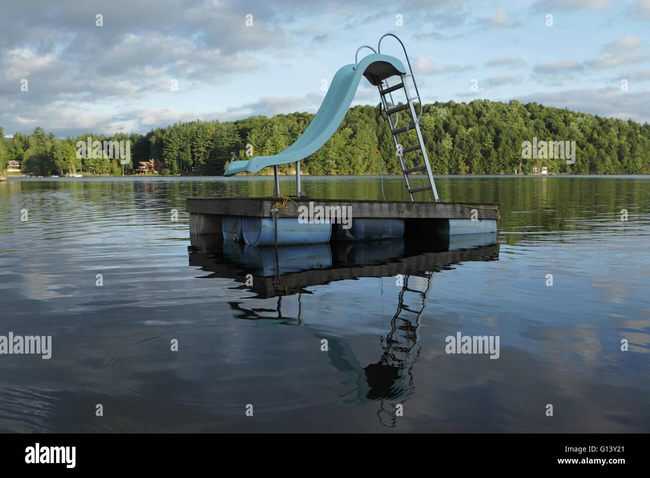 ozquatic floating water slide instructions