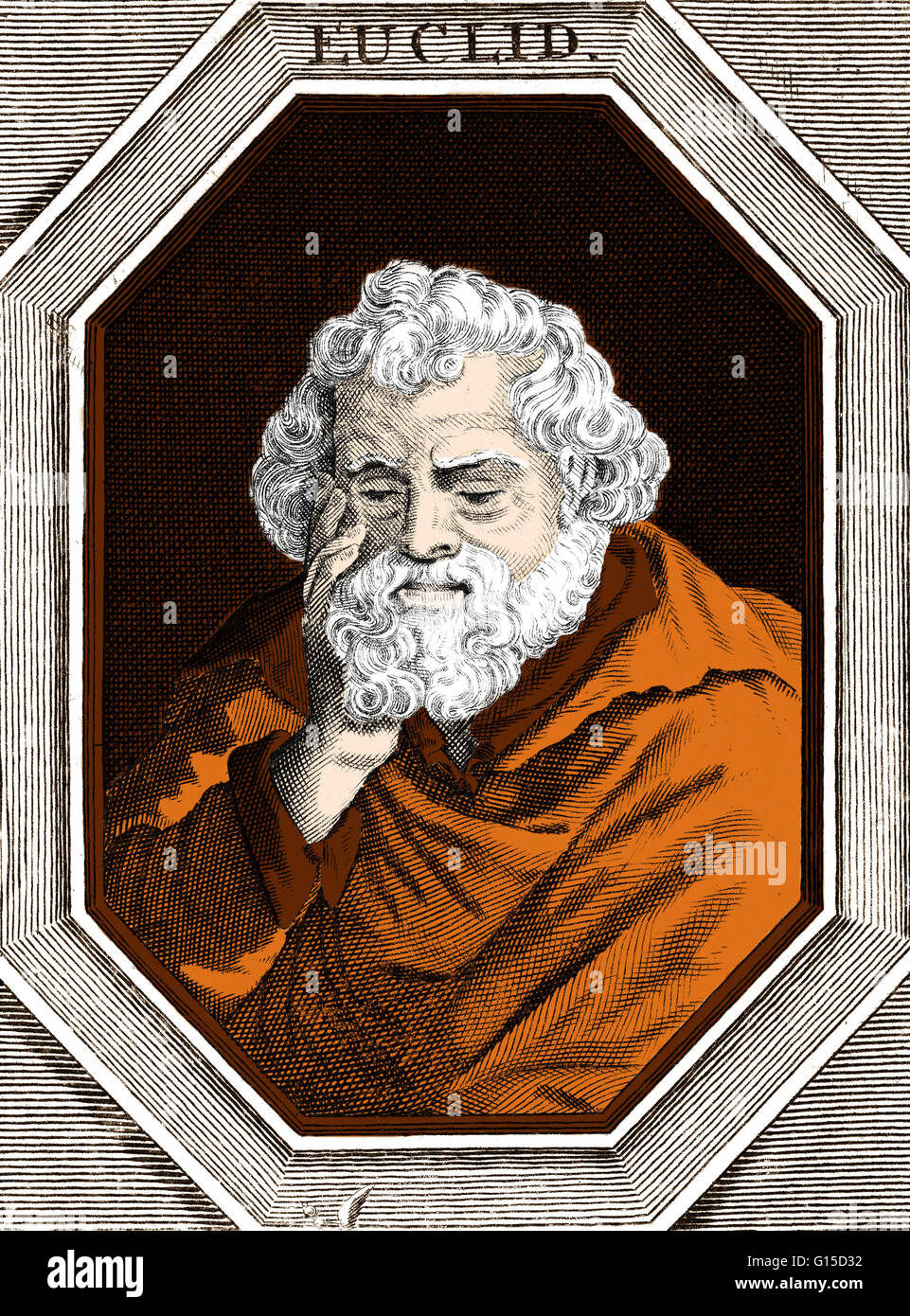 Ancient greek mathematician stock photos ancient greek euclid meaning good glory 300 bc was a greek mathematician often biocorpaavc