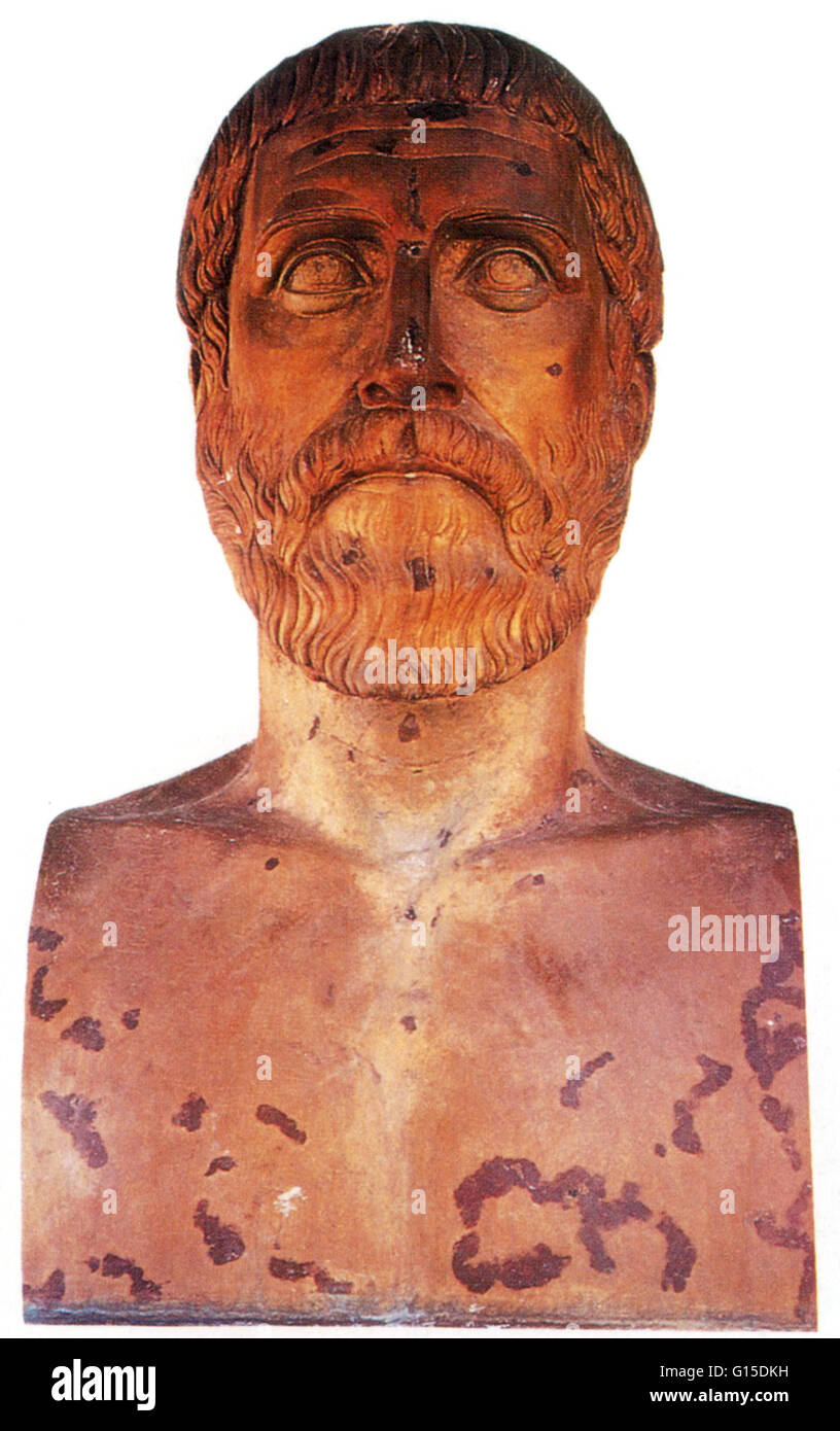 pythagoras statue stock photos pythagoras statue stock images pythagoras of samos 570 495 bc was an ancient greek philosopher and mathematician