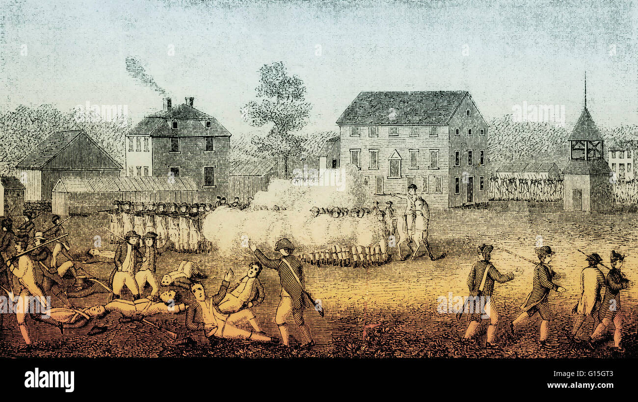 The Battles of Lexington and Concord, fought on April 19, 1775 ...