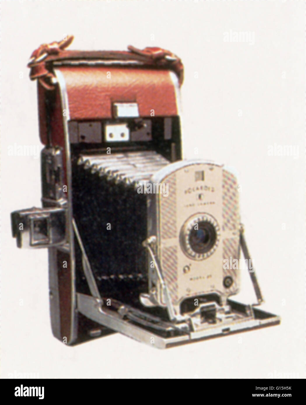 Polaroid Land Camera, invented in 1947 by Edwin Land. Edwin ...
